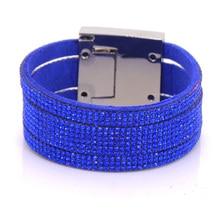fashion women s leather bracelets free shipping 2016 wide cuff unisex multilayer font b christmas b