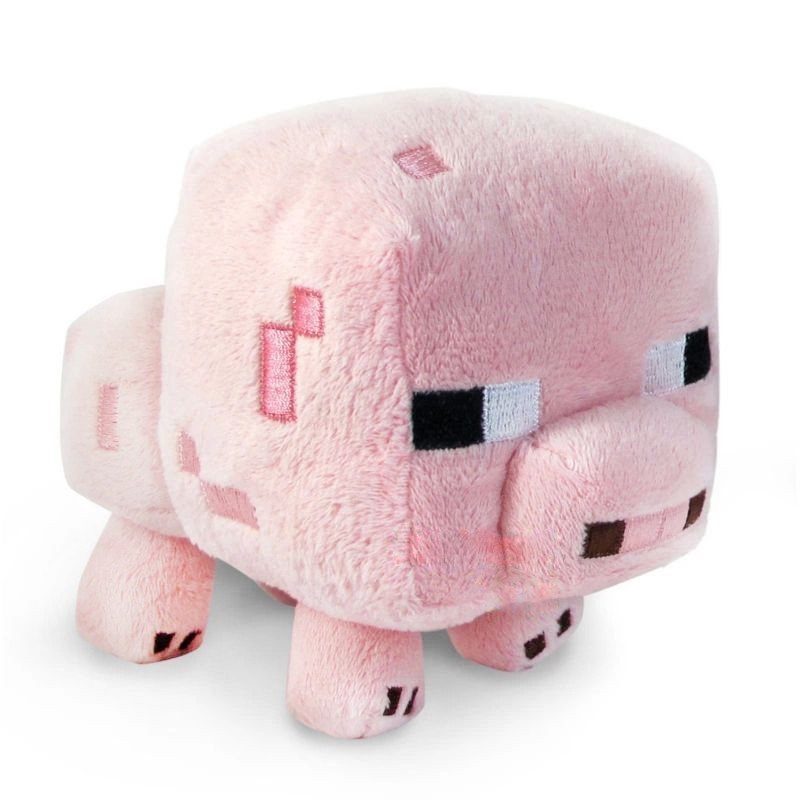 2016 New Arrival Minecraft Plush Toys 16CM Cute Pink Pig Soft Plush Stuffed Toys Kids Favor Animal Dolls Holiday Gift For Girls 2017 new super wings plush toys 20 30 cm cute cartoon soft stuffed dolls kids gift
