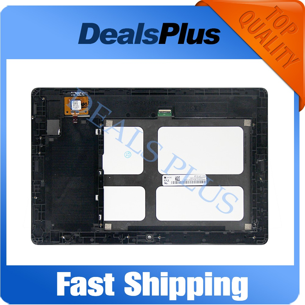 Replacement New LCD Display Touch Screen with Frame Assembly For Lenovo Tab A10-70 A7600 A7600-F A7600-H Black Free Shipping