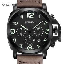 Часы мужчины люксовый бренд спортивные часы авто дата военная кварцевые часы relogios masculino reloj де-лос-hombres саат
