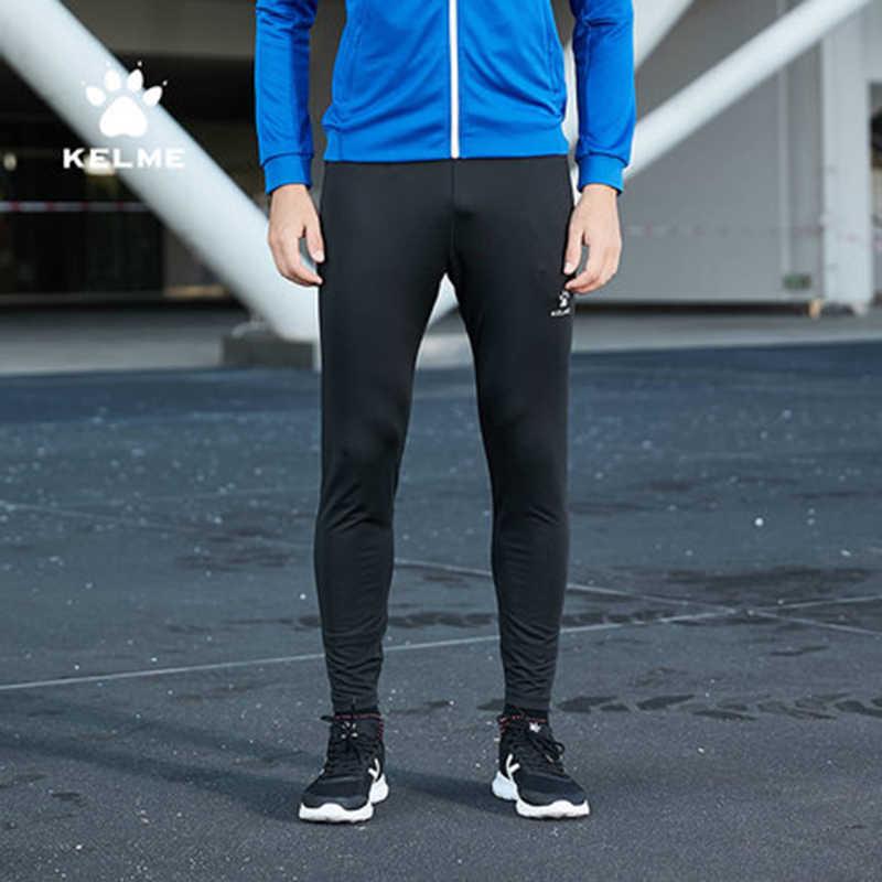 Pantalones de chándal KELME para hombre, ropa deportiva para hombre, pantalones deportivos para entrenamiento correr en gimnasio, pantalones para correr, pantalones transpirables para hombre KMC160022