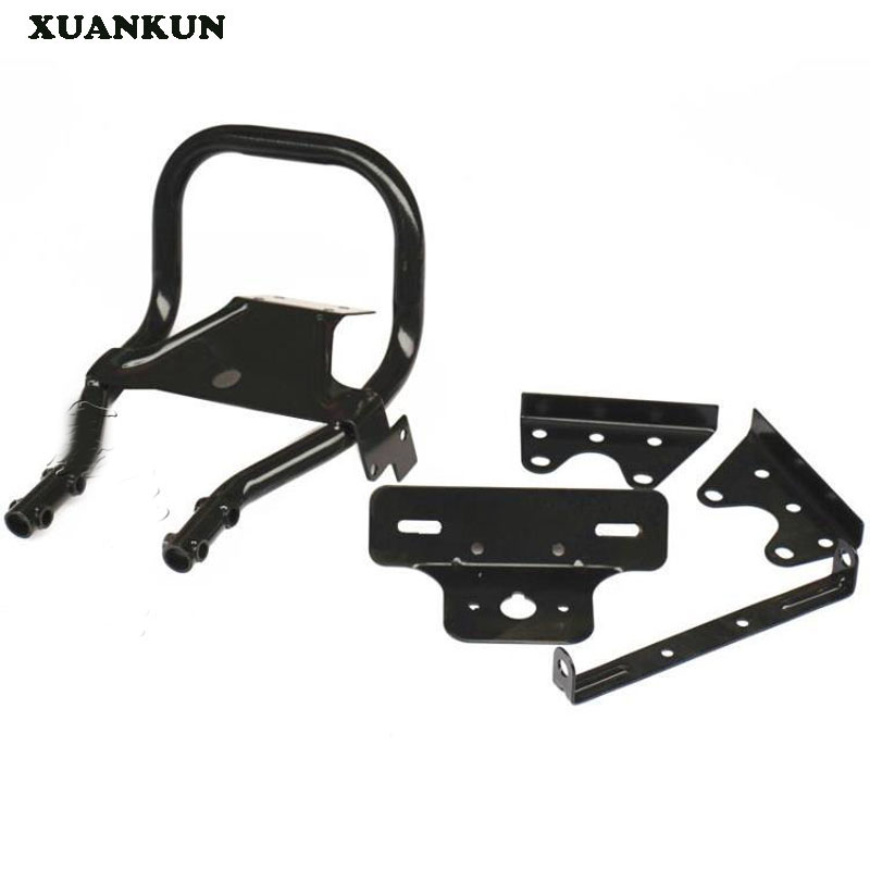 XUANKUN Monkey Bike Motorcycle Modified Parts Tube After The Shelves After The Tail xuankun vintage motorcycle modified coffee saddle cover seat cushion cover hump tail shell tail hood