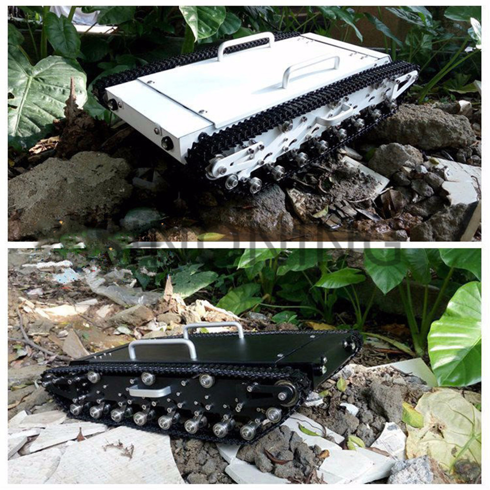 SINONING Full metal Robot tank chassis rugged exploration supper big large loading suspend crawler track SN3800