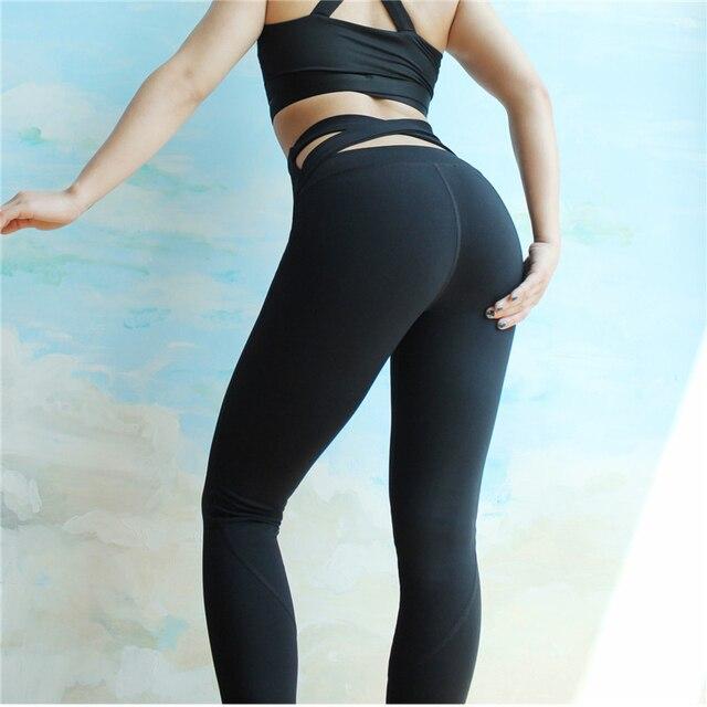89e854d6b7 Leggins Yoga Quick Dry Running Yoga Pants Fitness High Waist Hip Gym Shark  Leggings Fitness Sports Wear for Women Gym CK4052