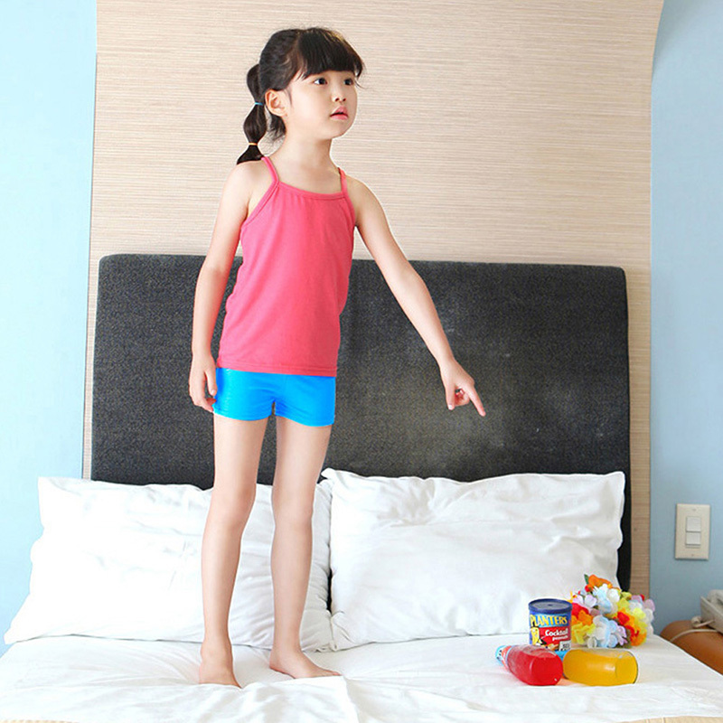 Baby Kids Girls Summer Casual Pants Leggings Skinny Stretch Safety Clothes