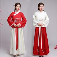 New Ancient Hanfu Cosplay Lady Fairy Tang princess Dress Film TV Performance Costume For Women Stage fancy Costume For singers