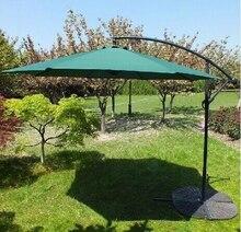Outdoor banana umbrella folding umbrellas patio booth 3 meters large sun beach UV