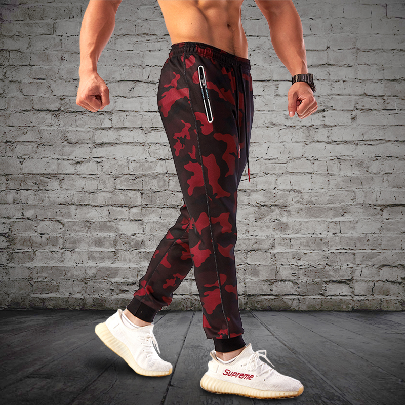 2018 Camouflage Jogging Sports Pants for Men 2
