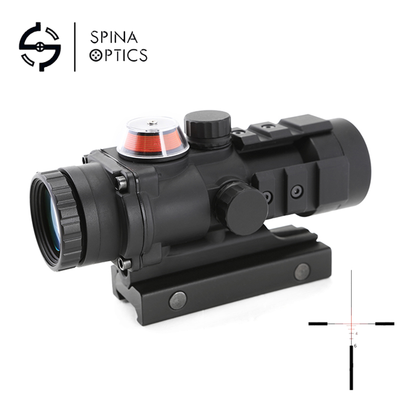 SPINA OPTICS Tactical Optical Sight 3x32 Gp01 Fiber Prism Red/Green Illuminated Sight Riflescope SPINA OPTICS Tactical Optical Sight 3x32 Gp01 Fiber Prism Red/Green Illuminated Sight Riflescope