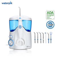 Waterpik WP 100 White Ultra Water Flosser Electric Oral Irrigator Dental Flosser 600ml Capacity Oral Hygiene For Family Care