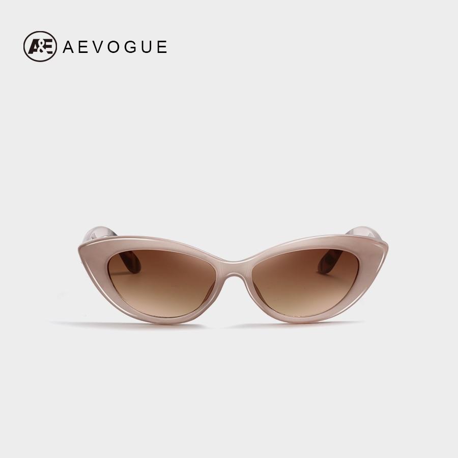 a21fe22fc82a AEVOGUE Sunglasses Women Cat Eye Stylish 2019 Fashion Trending Brand  Designer Vintage Female Sun Glasses Cute UV400 AE0655