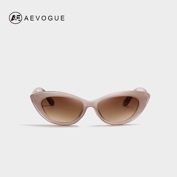 7f5785bdab AEVOGUE gafas de sol de las mujeres ojo de gato elegante 2019 de moda de  marca de diseñador Vintage mujeres gafas de sol lindo UV400 AE0655