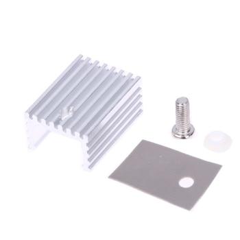 10pcs/lot 15*20mm TO-220 Heatsink Heat Sink With Screw Sets