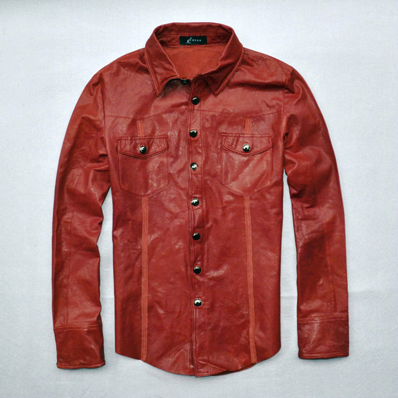 Find great deals on eBay for mens leather shirt. Shop with confidence. Skip to main content. eBay: Shop by category. Shop by category. Enter your search keyword Mens Red Leather Uniform Shirt.