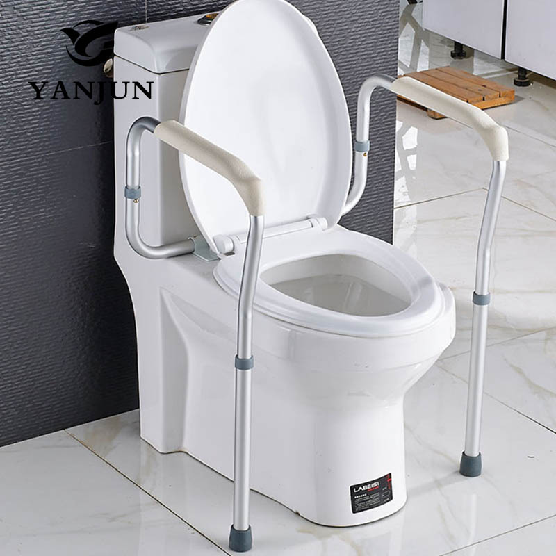 Yanjun Disability Grab Rail Support Handle Bar Bathroom Safety Aid Hand  Rail Steel Toilet Safety Rails YJ 2093 In Toilet Safety Rails From Home  Improvement ...