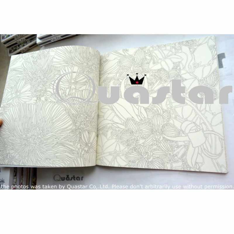 Detail Feedback Questions about Fashion Korean Nature Coloring Book ...