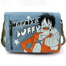 Anime de Una Pieza Cosplay Anime alrededor de la bolsa de Mensajero de viaje de regalo de cumpleaños hombres y mujeres bolsa de hombro
