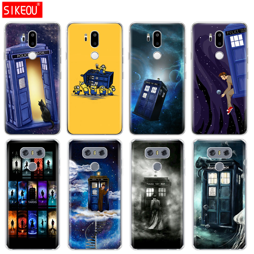 Silicone Case Phone Cover For Lg G7 Q8 Q6 G6 Mini G5 V30 V7 V9 K10 K8 X Power 2 Doctor Who Big Clearance Sale Fitted Cases Phone Bags & Cases