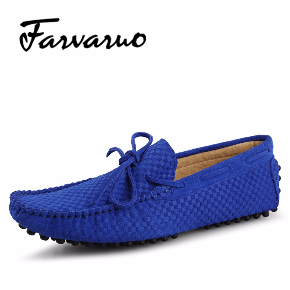 Summer Breathable Men's Shoes Casual Suede Leather Driving Moccasins Loafers Embossed Shoes for Men Flats Lace Round Toes Loafer cbjsho brand men shoes 2017 new genuine leather moccasins comfortable men loafers luxury men s flats men casual shoes
