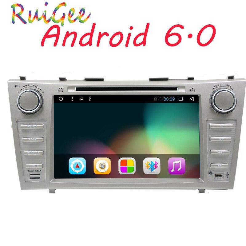 8 pouce Android 7.1 Voiture Lecteur DVD GPS Système de Navigation pour Toyota Camry 2007 2008 2009 2010 2011 (DTV DAB + En Option)
