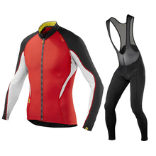 цены new breathable long-sleeved Riding wear men SPRING / autumn team cycling jersey bike Ropa Maillot ciclismo