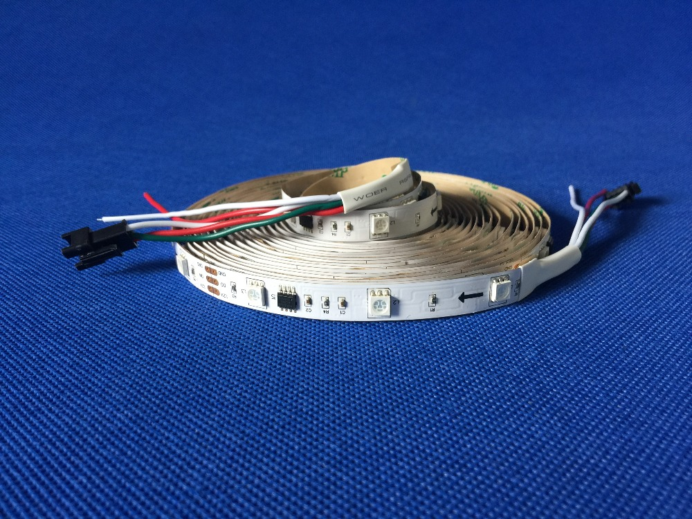 Təqdimat !! 5M WS2811 60 / leds5050 RGB Tam Rəngli LED Elastik Zol - LED işıqlandırma - Fotoqrafiya 3