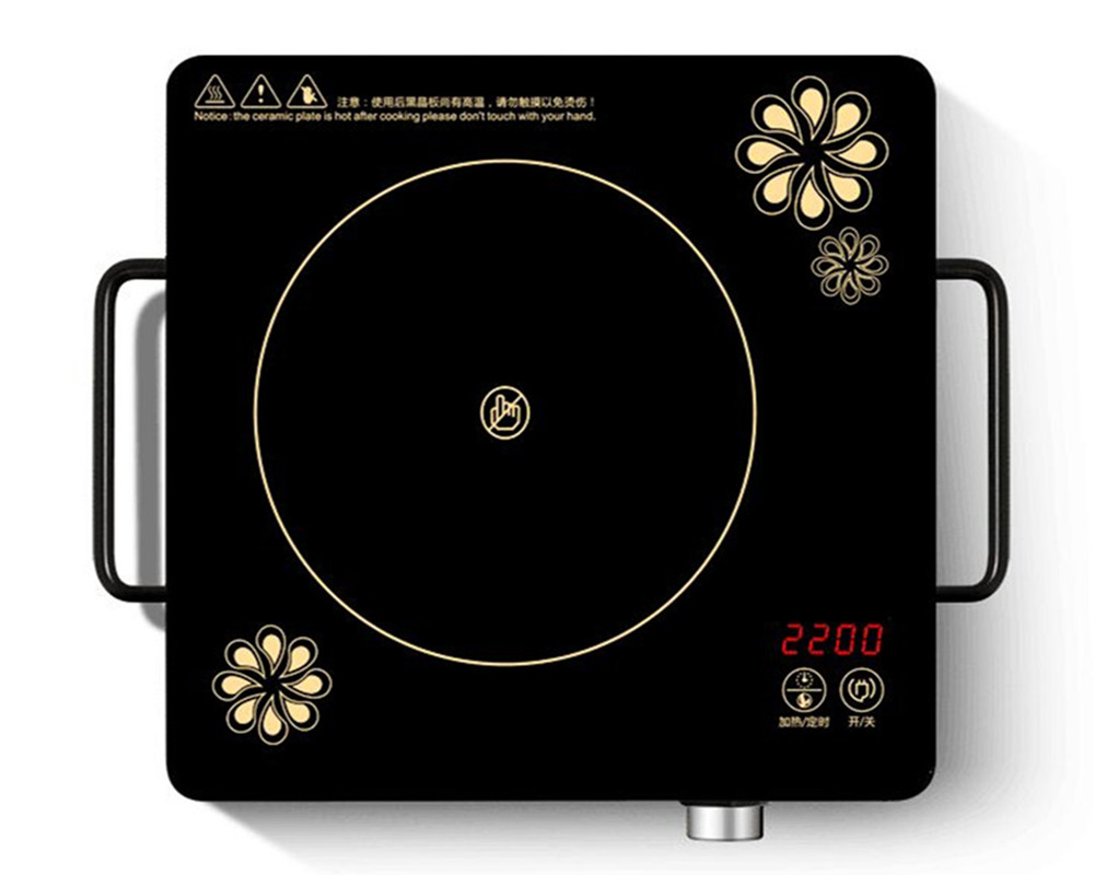 цена на Electric ceramic stove home sizzling induction cooker intelligent mini small battery furnace electric furnace convection oven