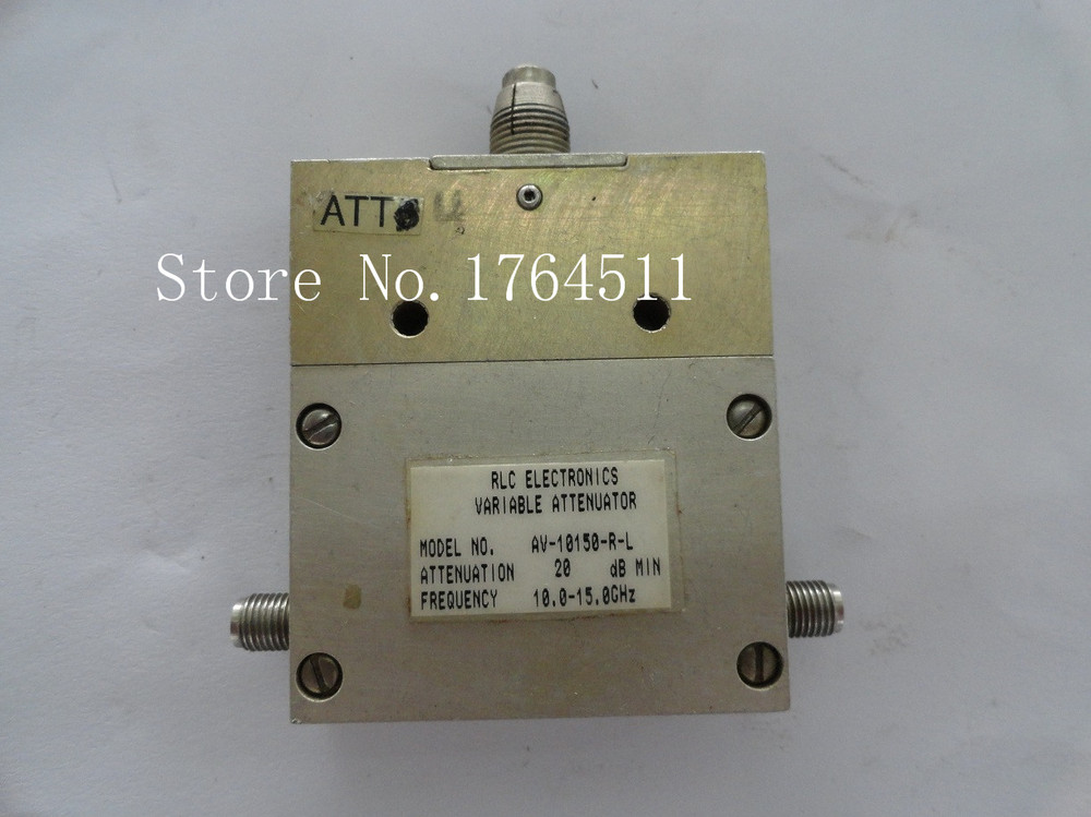[BELLA] Adjustable Variable Attenuator RLC AV-10150-R-L 0-20dB 10.5-15GHz Continuation SMA