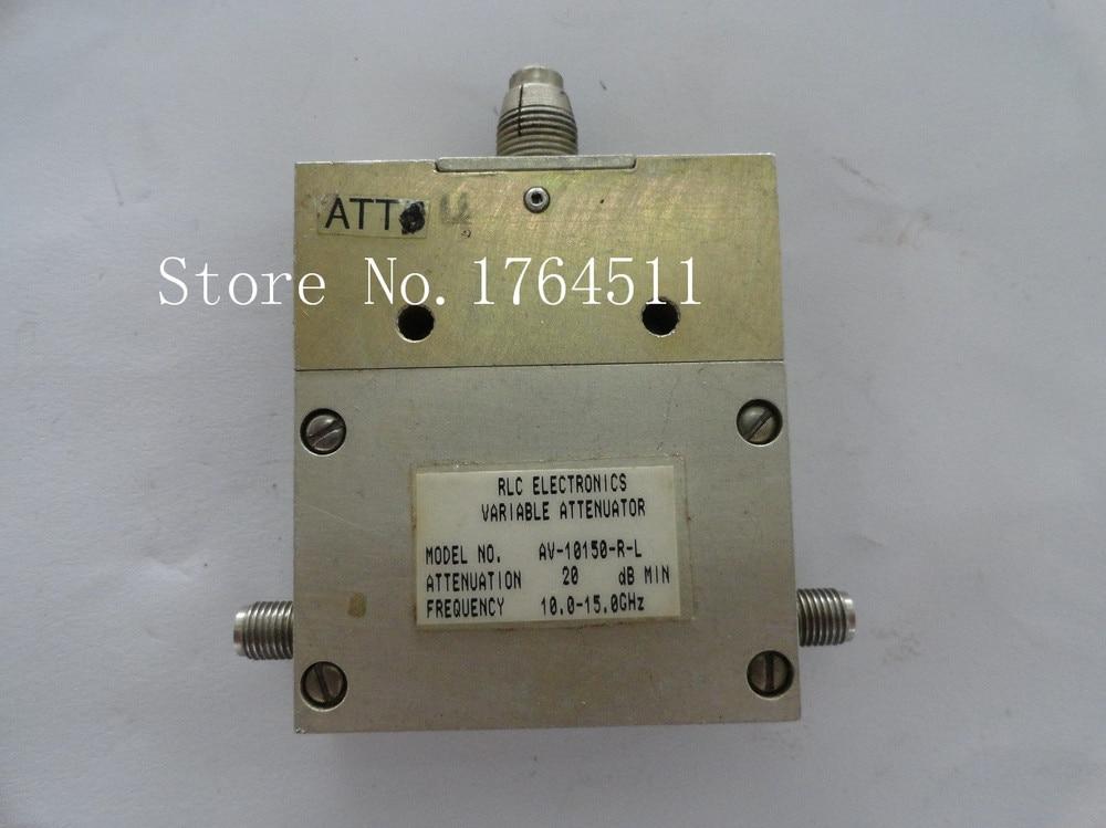 [BELLA] Adjustable Variable Attenuator RLC AV-10150-R-L 0-20dB 10.5-15GHz Continuation SMA