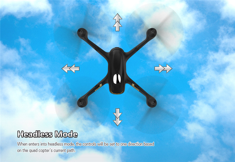 H501C X4 Brushless With 1080P HD Camera GPS Altitude Hold Mode RC Quadcopter RTF Mode