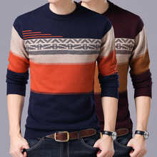 2017 New Spring Autumn Brand clothing Men Sweaters Pullovers Knitting fashion Designer Casual Man Knitwear