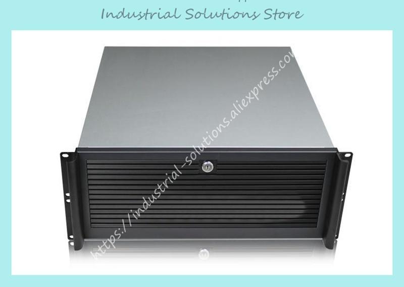 NEW 4u industrial computer case full open door server computer case 4u rack недорого