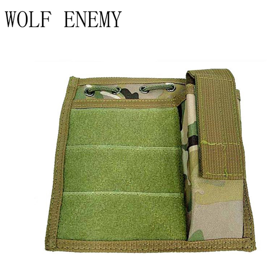 Us Airsoft Military Molle Milspec Mod Map Torch Admin Pouch Black Tan Od Acu Cp Pouches Hunting Bags & Holsters