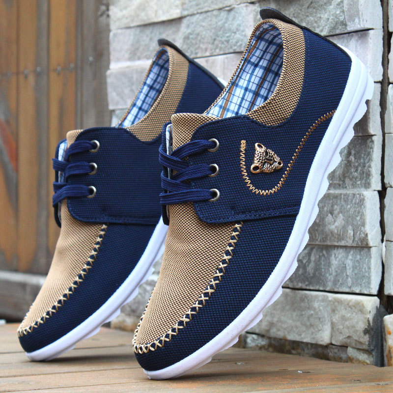 Fashion Leopard Casual Shoes Men Flats Loafers Lace Up Canvas Shoes For Men Flat Driving Shoes Non-Slip Sneakers Man FootwearFashion Leopard Casual Shoes Men Flats Loafers Lace Up Canvas Shoes For Men Flat Driving Shoes Non-Slip Sneakers Man Footwear