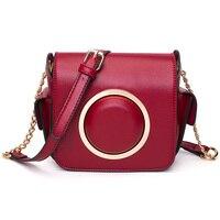 2017 Fashion Women Mini Crossbody Bag High Quality PU Female Shoulder Bag Red Black Brown Green