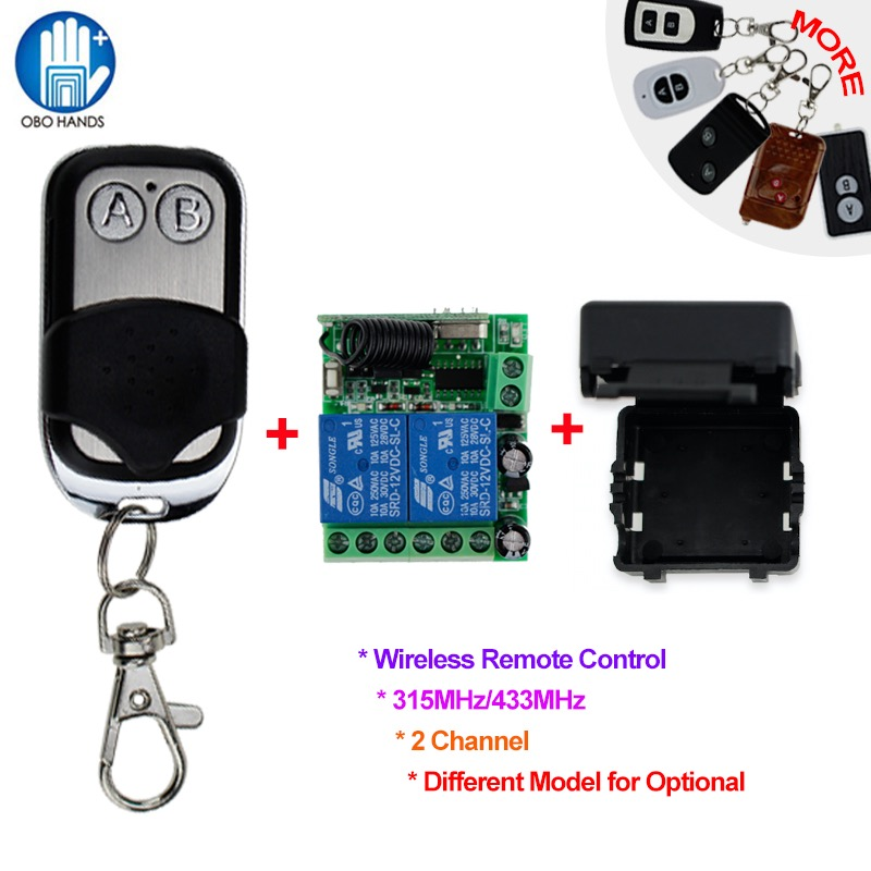 DC12V 2CH Wireless Remote Control Switch 315/433MHz for Double/Two Electric Door Lock Access Control System+Remote Module+Shell 40km h 4 wheel electric skateboard dual motor remote wireless bluetooth control scooter hoverboard longboard