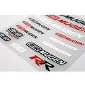 Новейшие Стайлинга Автомобилей Mugen Все Тело Стикер Ручка Наклейка Декор Окна для Civic Accord Crv Fit Города Джаза