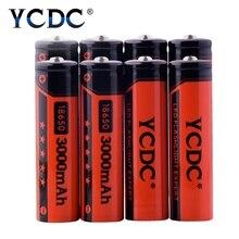 Mah de Lítio Ycdc 2 Pcs 4 8 10 20 Novidade Original 18650 3.7 V 3000 Recarregável Bateria de Equipamento Industrial Usando