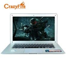 Crazyfire14 дюйма 1920*1080 Full HD ноутбук 8 ГБ оперативной памяти и 1 ТБ HDD и 256 ГБ SSD Intel Celeron J1800 двухъядерный 2.41Ghz-2.58 HDMI