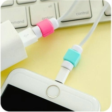 Cable Protector Data Line Colors Cord Protector Protective Case Long Size Cable Winder Cover For iPhone
