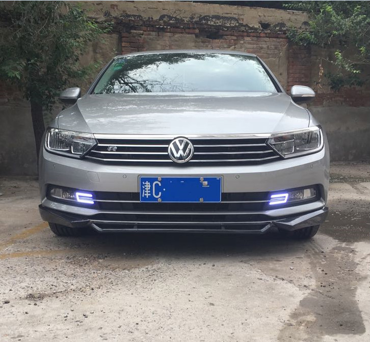 Osmrk led drl daytime running light for Volkswagen VW passat b8 2017 for volkswagen passat b6 b7 b8 led interior boot trunk luggage compartment light bulb