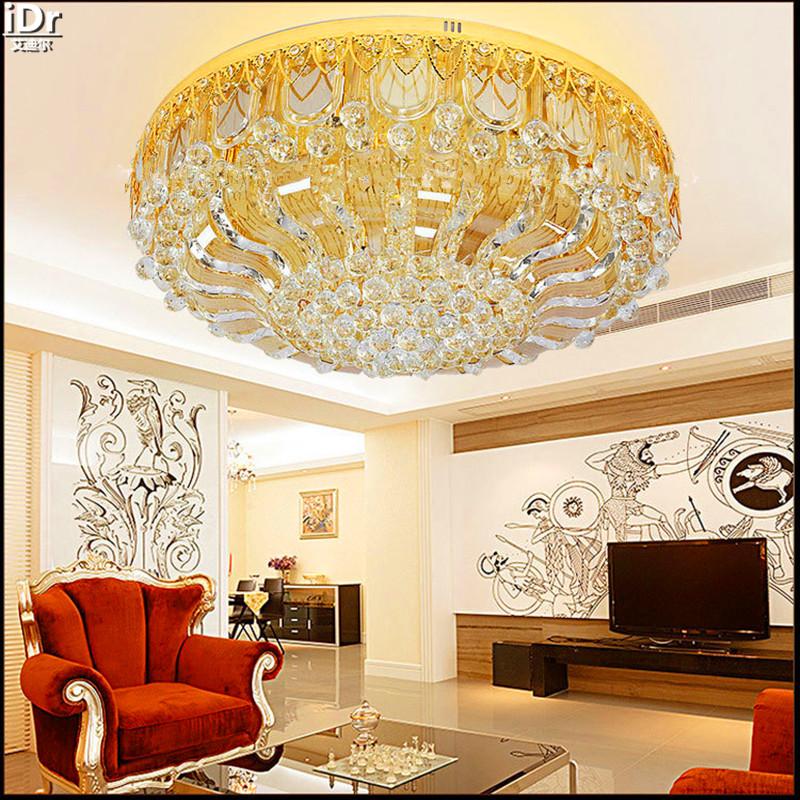 Fabrik Direkt Gold Rund FHRTE Fernbedienung Flurbeleuchtung Lampen Wohnzimmer Hotel Deckenleuchten Lmy 0114
