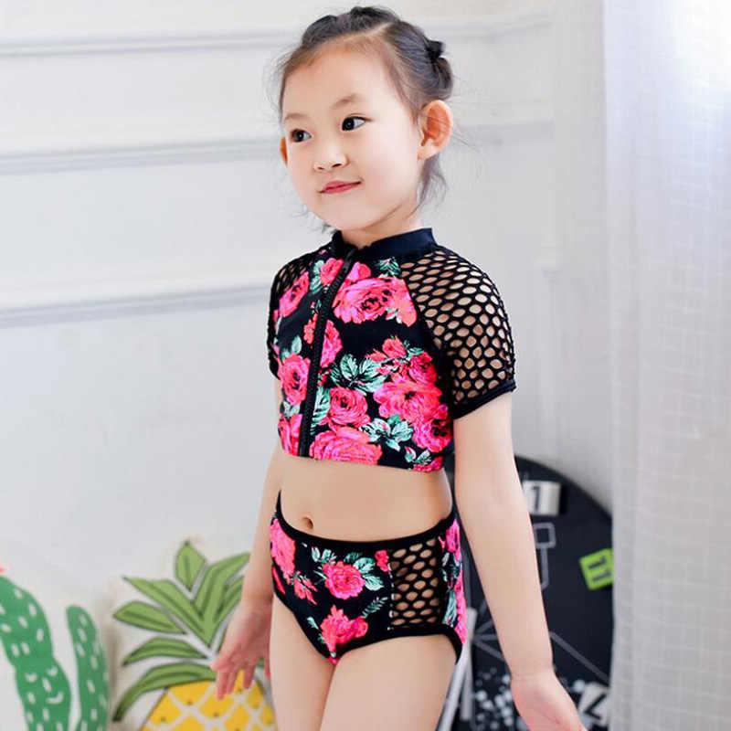 gran selección de 2019 comprar detalles para Trajes de baño soleados eva para niñas de 2 a 12 años de edad separados  sexy niños bikini niños traje de baño para niñas ropa de baño niña playa