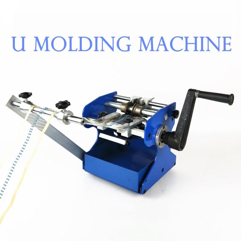 1PC U Type Hand Shake Resistor Axial Lead Bend Cut & Form Machine Resistance Forming Desktop U Molding Machine