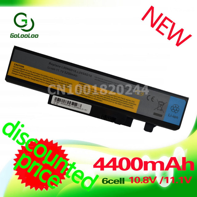 Golooloo 4400 mah batería para lenovo ideapad b560 y560 v560 y460at y460n y460c y460p y560 y460 y460a y560a y560p 57y6440 l10s6y01