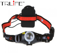 3mode 1800LM CREE Q5 LED Headlamp Zoomable Zoom Camping Head Light Torch Waterproof flashlights