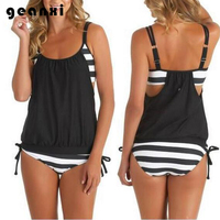 Push Up New Hot Sell Swimwear Women Simple Sexy Swimsuit Halter Top Bathing Suit Vintage Beach