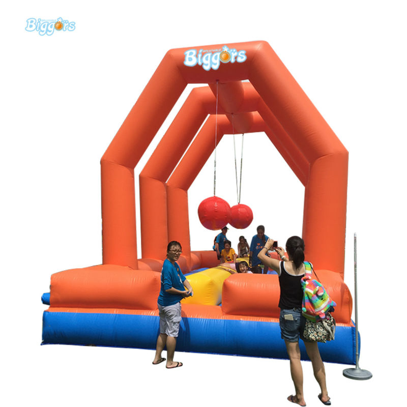 Inflatable Biggors Professional Supplier Inflatable Playground With Jumping Ball Free Shipping