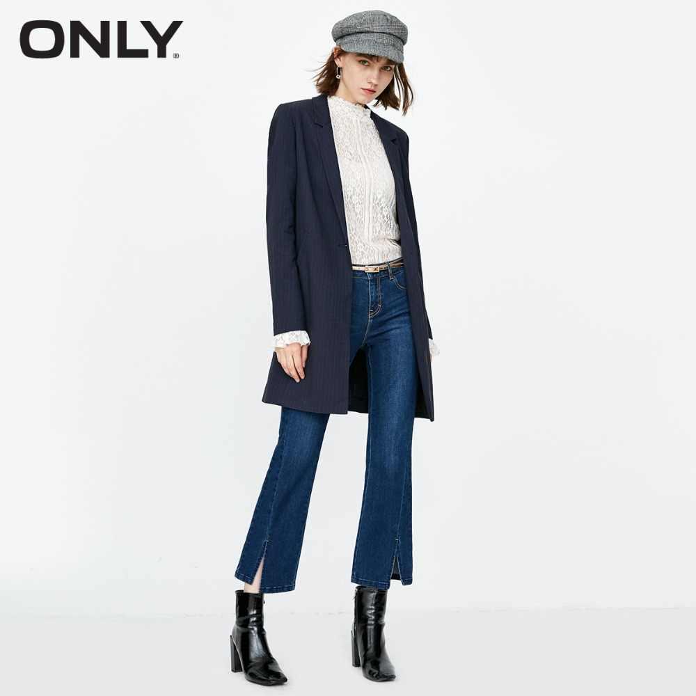 Только женские осенние новые укороченные джинсы с низкой талией | 118349562