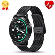 Nuevo lemfo gw01 smart watch mtk2502 smartwatch bluetooth monitor de ritmo cardíaco completo pantalla ips para ios android teléfono